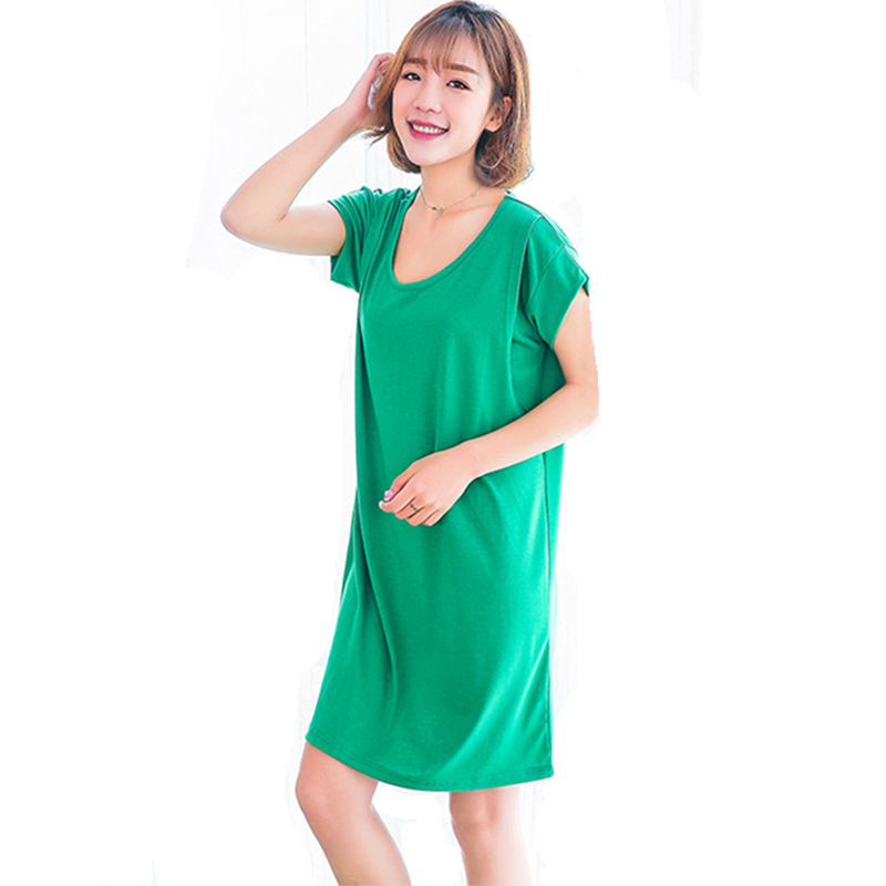 Casual Maternity Nursing Dresses Breastfeeding Clothes For Pregnant Women Solid -3317