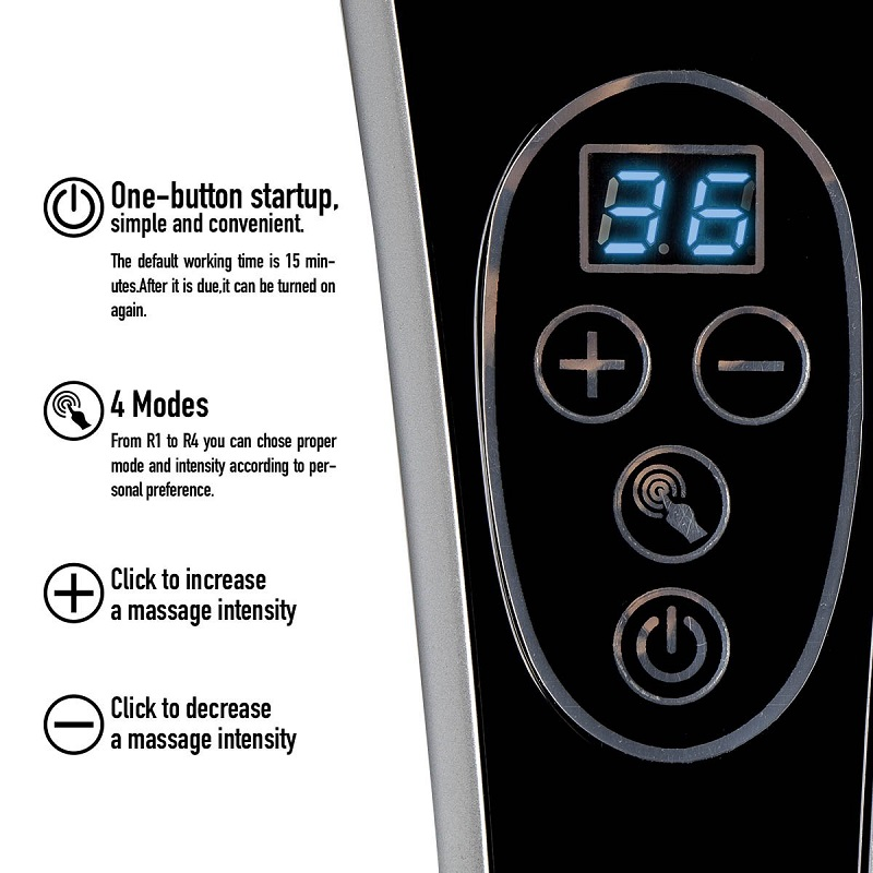 Image 5 - Electric Back Massagers Percussion Deep Tissue Handheld  for Neck Body Shoulders Leg Foot Pain Relief Relax    Shiatsu Infrared-in Massage & Relaxation from Beauty & Health