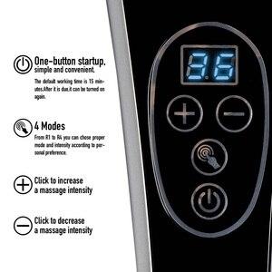 Image 5 - Elektrische Terug Stimulators Percussie Deep Tissue Handheld voor Hals Body Schouders Been Voet Pijnbestrijding Relax Shiatsu Infrarood
