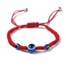 Blue Eye Kabbalah Red String Bracelets Adjustable Fashion Jewelry Unisex