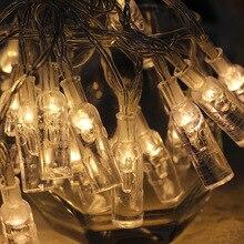 купить XO LED String light 10M 3AA Battery Powered USB Copper Wire String Lights Outdoor Fairy Light for Xmas Garland Party Wedding по цене 442.89 рублей