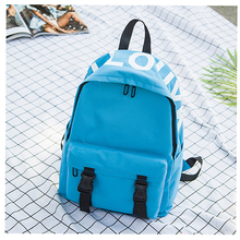 Baby canvas diaper backpack fashion bag baby large capacity Mummy travel care shoulder