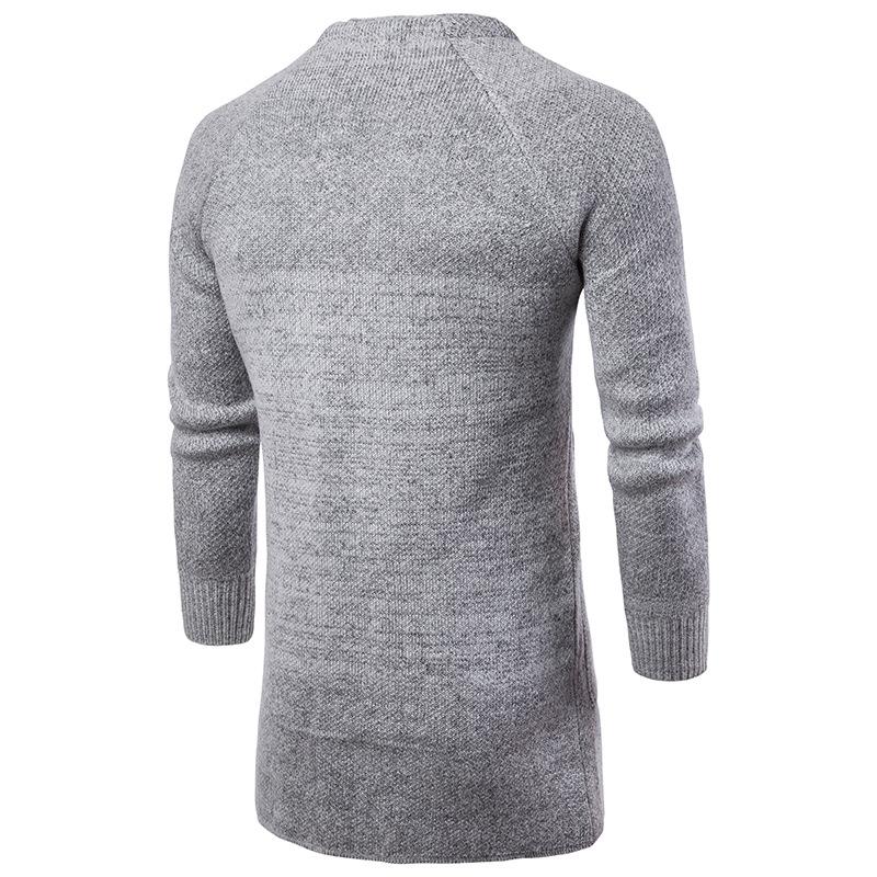 Lange Trenchcoat Männer Woll Hohe Qualität Männer Mode Lässig ... ad26063fd1