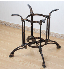 Cast iron table legs.. Hot pot table. The table leg bracket
