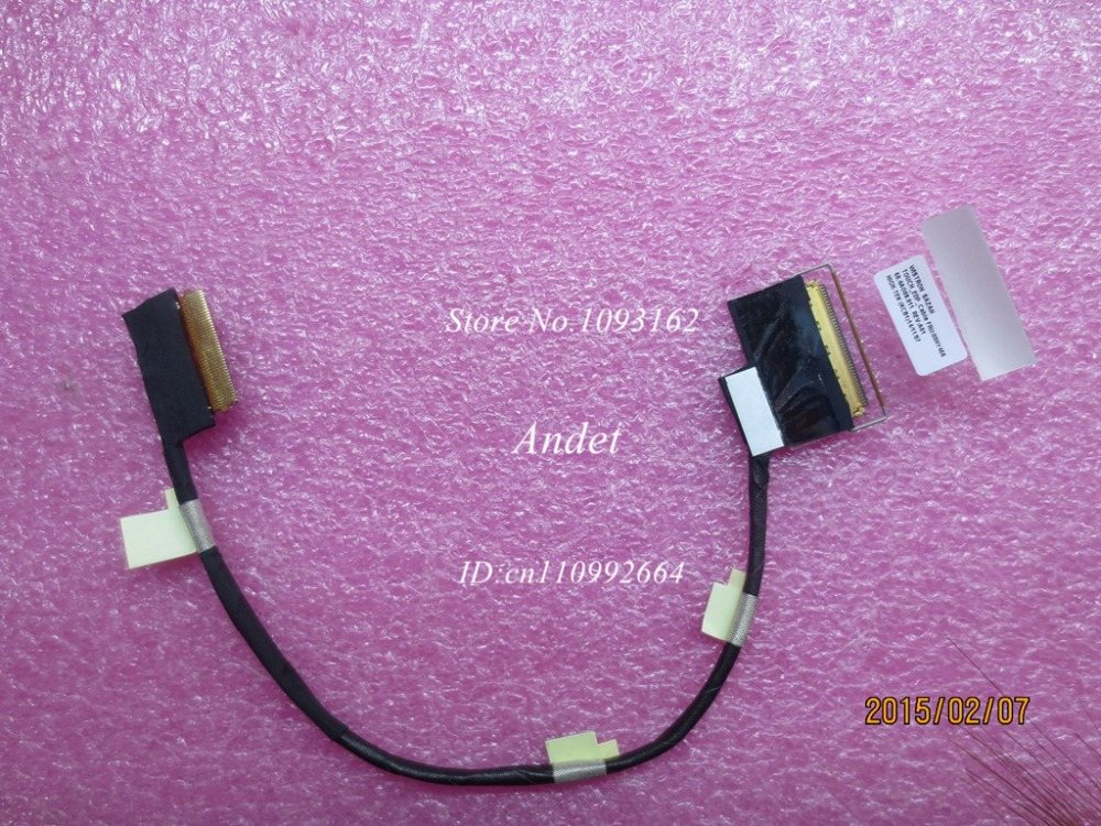 New Original LVDS LCD Cable Touch EDP Screen Video Cable Line for Lenovo ThinkPad T550 W550S 00NY456