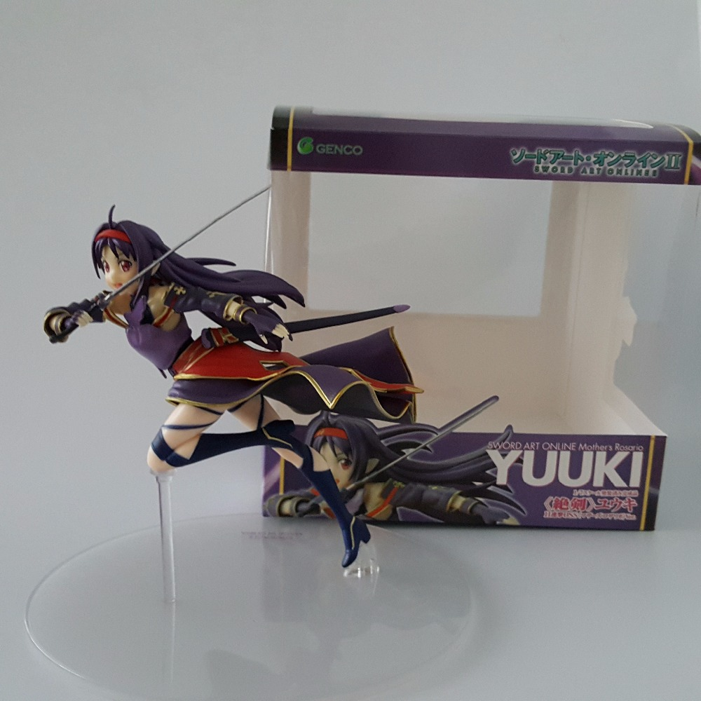 Sword Art Online Action Figures Toys Konno Yuuki PVC Figure SAO Collection Model Anime 2 - Top-buy Fancy Home store