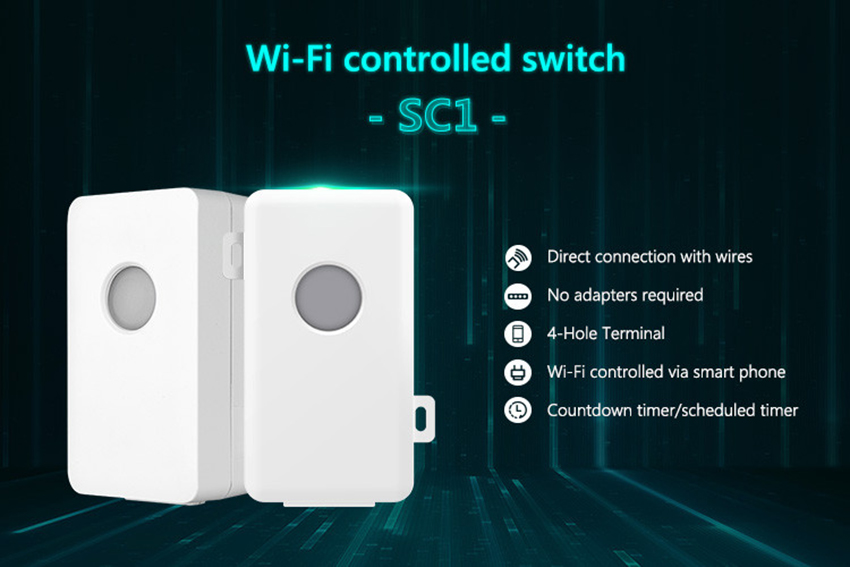 Broadlink SC1 Wifi Controller Smart Home Automation Modules APP Wifi Wireless Remote Control Power Switch via Mobilephone 8