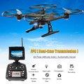 JXD 510G RC Quadcopter Drone Com 5.8G HD Câmera de transmissão de imagem Real & Display LED Modo Headless Helicóptero brinquedos