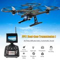 JXD 510G RC Quadcopter Drone With 5.8G HD Real image transmission Camera &LED Display Headless Mode Helicopter Toys