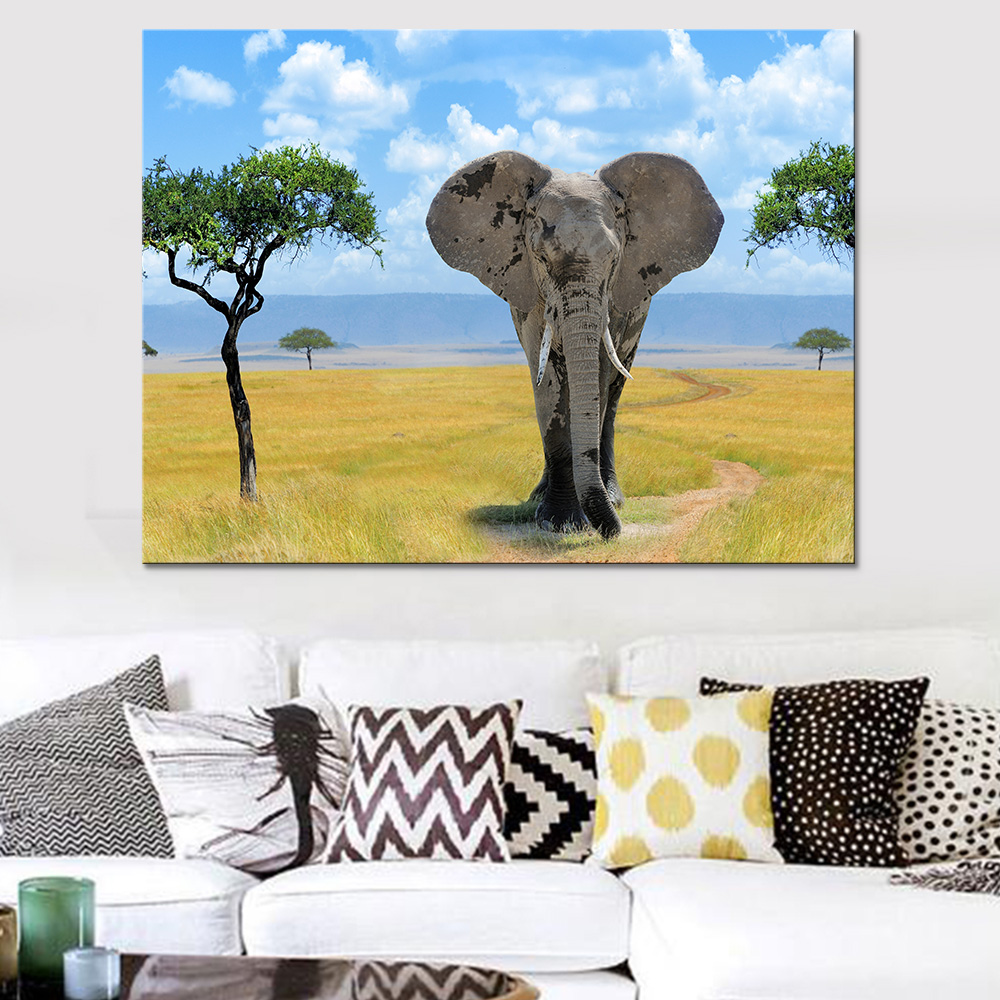 For Sale Painting Home Decor Framework Living Room Canvas Wall Art 1 ...