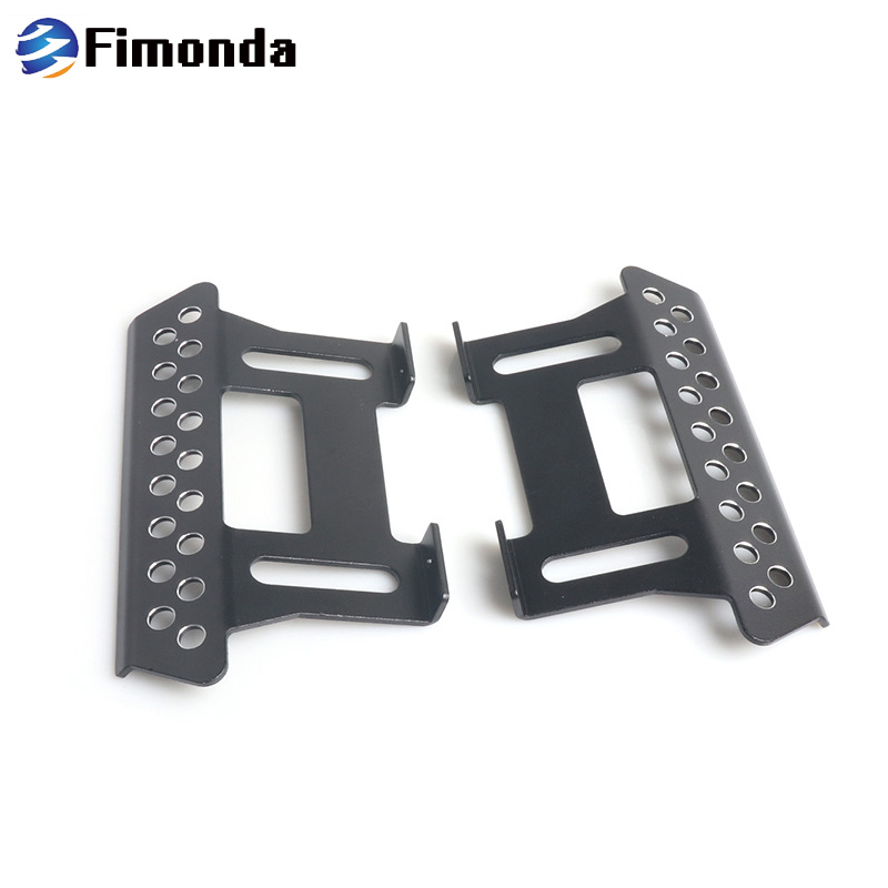 SCX10 2Pcs Metal Side Pedal Plate for 1/10 RC Crawler Car Axial SCX10 Upgrade PartsSCX10 2Pcs Metal Side Pedal Plate for 1/10 RC Crawler Car Axial SCX10 Upgrade Parts
