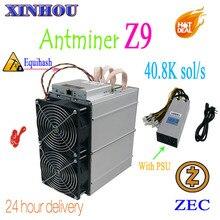 Используется Bitmain Antminer Z9 40,8 k sol/s Equihash ASIC шахтер горной ZEC лучше, чем Innosilicon A9 antminer z9mini S11 Z11 S15 M3X