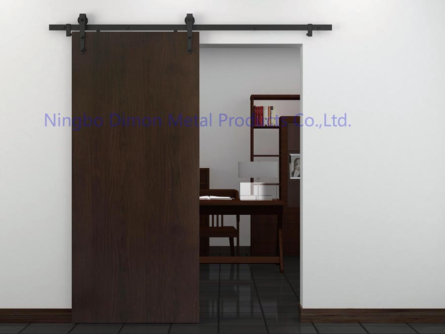Купить с кэшбэком Dimon customized sliding door hardware wood sliding door hardware hanging wheel America style sliding door hardware DM-SDU 7204