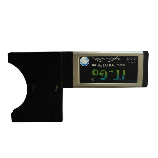 34mm expresscard 54mm express card slot to pcmcia cardbus adapter