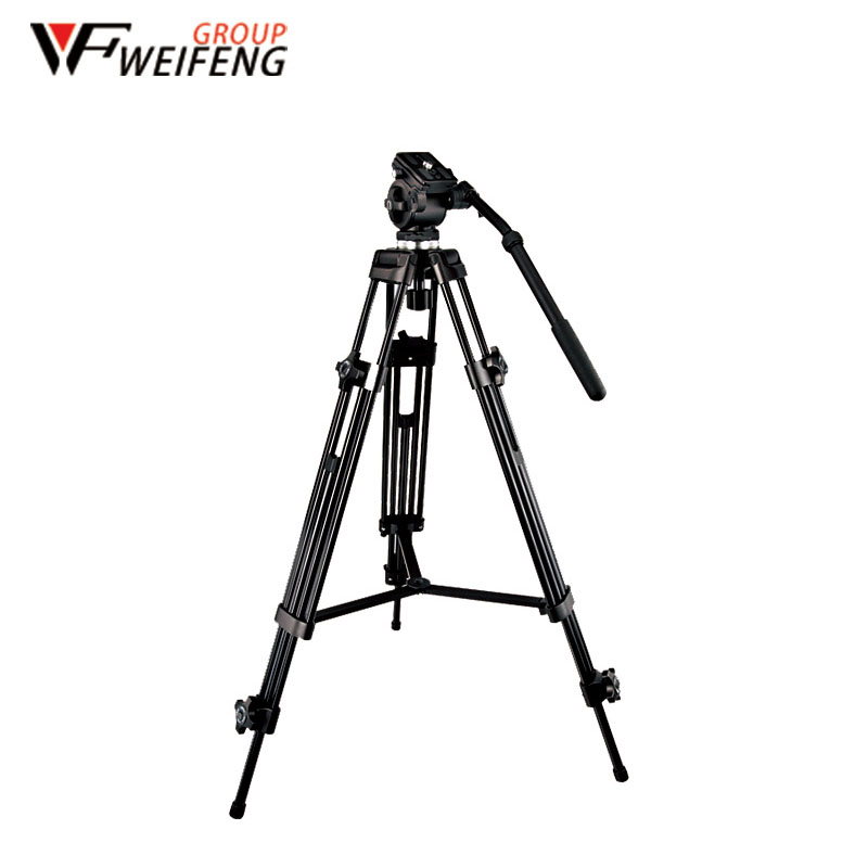Tripod For Camera WF – 717 1.3m Tripod Professional Portable Travel Aluminum  Tripod Accessories Stand with Head for Dslr