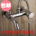 2014 single holder dual control shower hose square round single head promotion sale chuveiro led holder rain shower concealed
