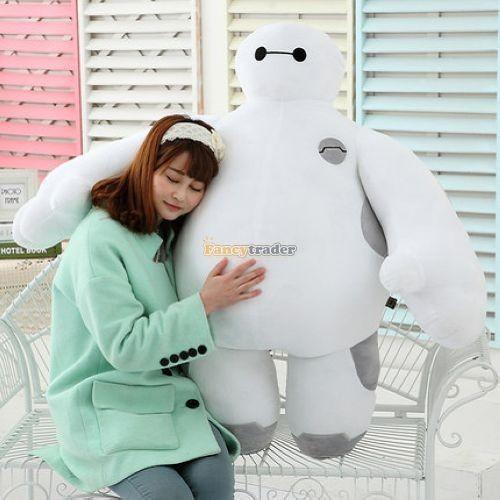 Fancytrader 39\'\' 100cm Giant Plush Stuffed Baymax Big Hero 6 Stuffed Toys, Free Shipping FT90510 (2)