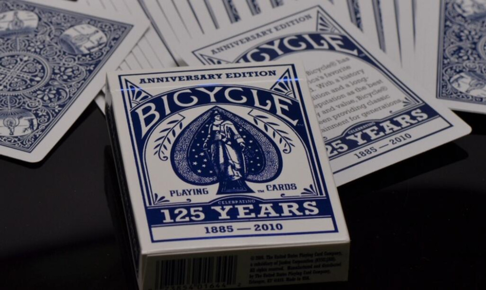 4 Decks Bicycle 125th Anniversary Playing Cards 125 Yrs