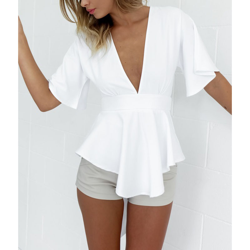Low Cut Shirt Women