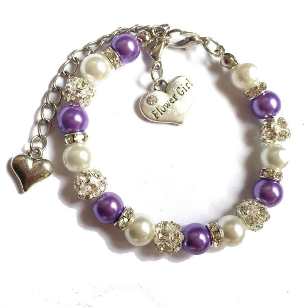 GTHYUUI Fashion Jewelry Rhinestone Crystal Handmade Metal Beaded Bracelets