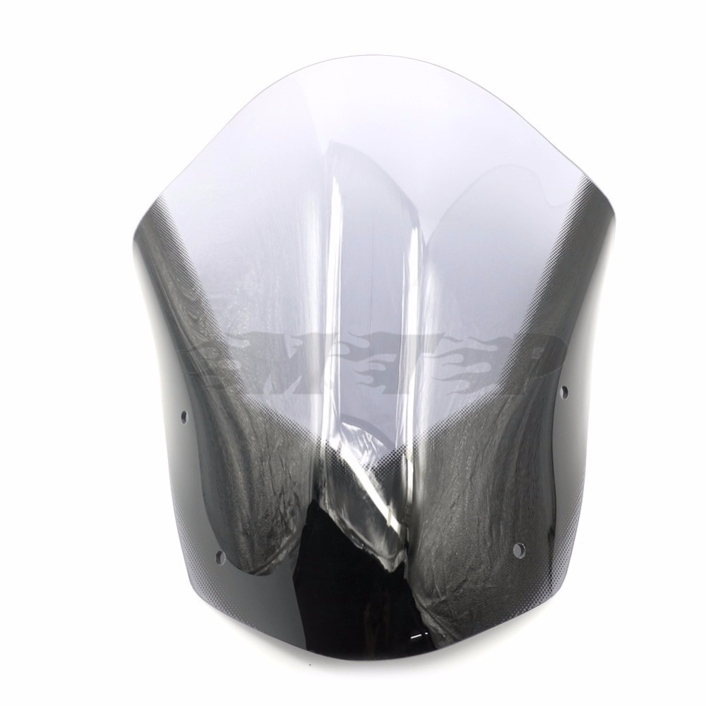 MT 09 Motorcycle Windscreen Windshield For Yamaha MT09 MT-09 FZ-09 2013 - 2016 2015 2014 Front Upper Wind Deflector Smoke motorcycle street bikes wind deflectors windshield windscreen for 2006 2014 yamaha fz1 fz1n fz6 s2 fz8 fz 6 8 dark smoke 08 12