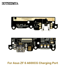 Charging Port Board For ASUS Zenfone 6 A600CG USB Charging Charger Port Dock Plug Connector FLex Cable Microphone Spare Parts стоимость