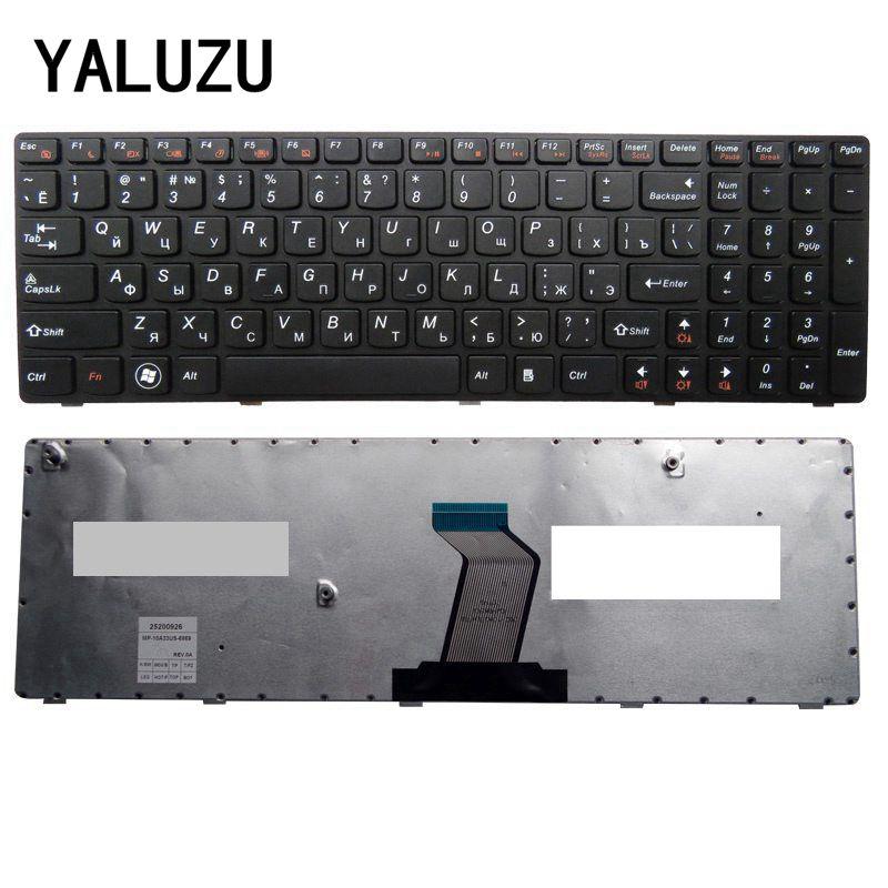 YALUZU Russian FOR LENOVO V570 V570C V575 Z570 Z575 B570 B570A B570E V580C B570G B575 B575A B575E B590 B590A RU Laptop Keyboard
