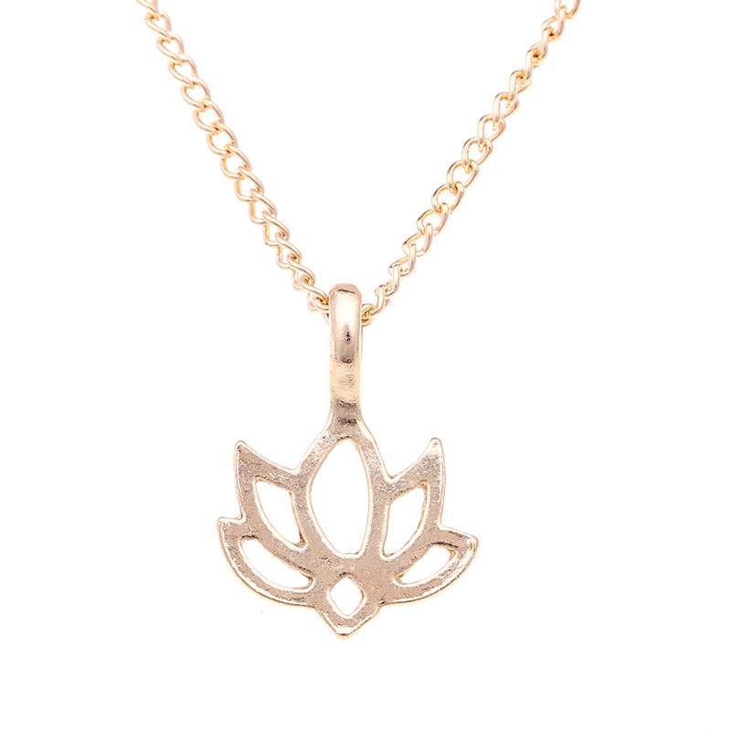Women's Good Karma Lotus Necklace Jewelry Necklaces Women Jewelry