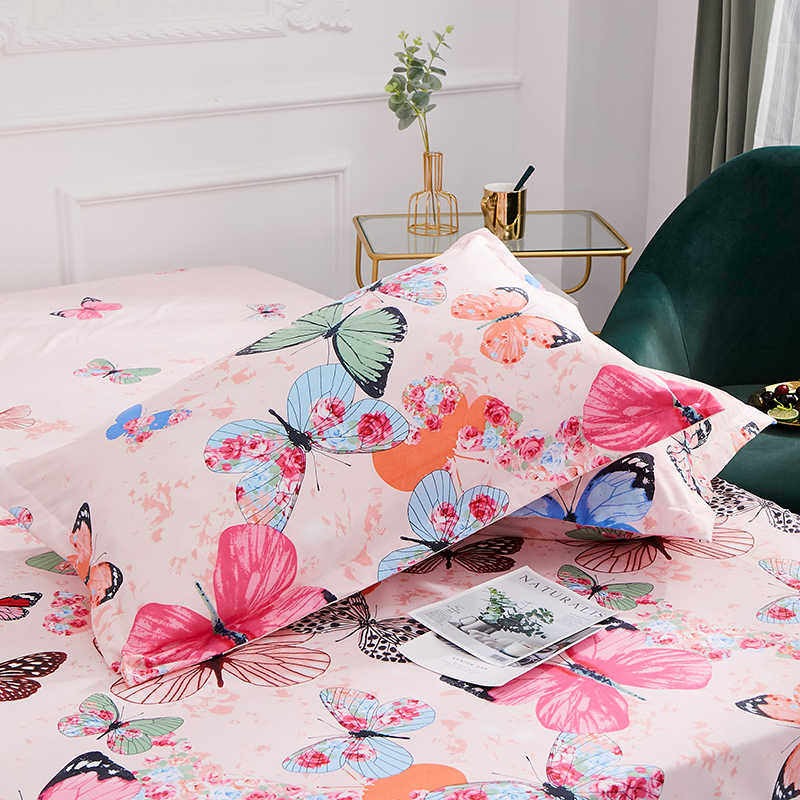 2019 New Product 100%Polyester Super soft printed pillowcase household pillowcase