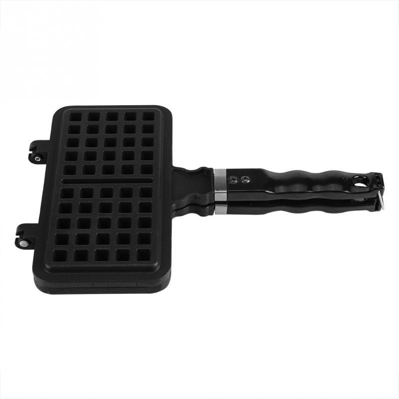 Image 5 - 1Pc Rectangle Shape Non stick Waffle Mold Baking Pan Making Tool Maker Press Plate Pan KitchenWaffle Makers   -