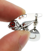 Spinner Fishing Lures Wobblers Sequin Spoon Crankbaits Artifical Easy Shiner VIB Baits for Fly Fishing Trout Pesca