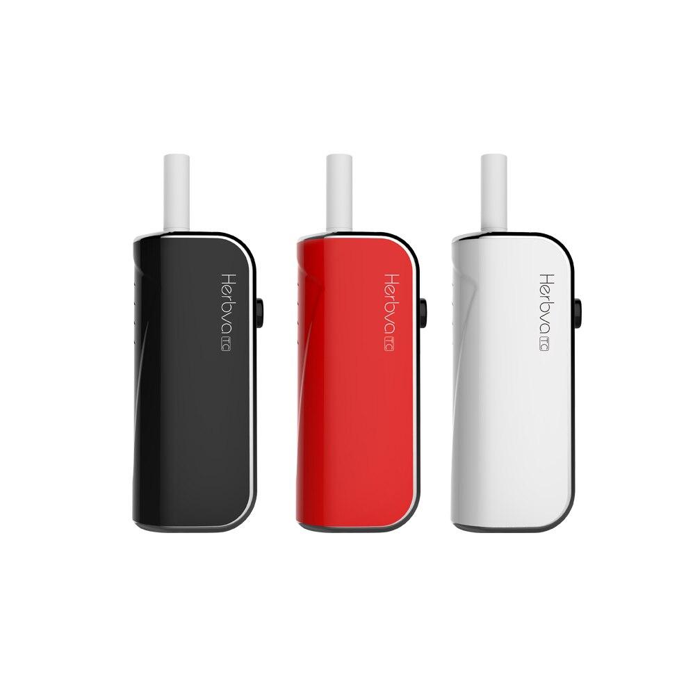 100% Airistech Herbva sèche herbe vaporisateur électronique Cigarette Kit 1200 mah batterie Vape stylo 3D en céramique atomiseur TC Vaper Vape Kit