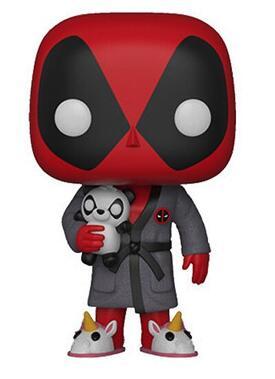 bedtime-deadpool-327-with-panda-unicorn-slipper-font-b-marvel-b-font-10cm-x-man-cute-vinyl-bobble-head-figure-model-dolls-toys