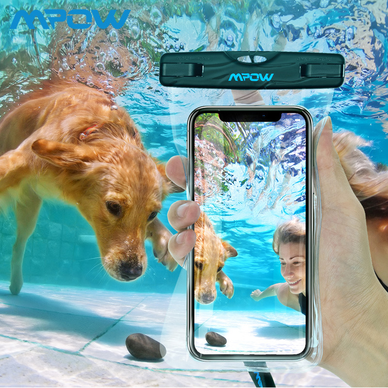 Mpow MBC3 Universal IPX8 Waterproof Pouch Mobile Phone Bag H