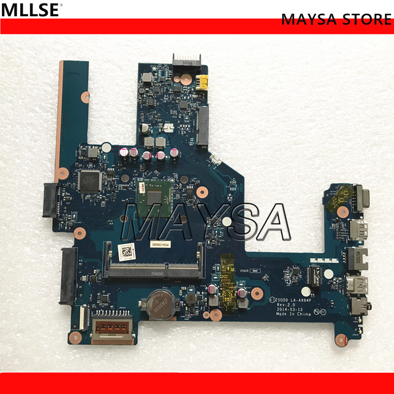 ZSO50 LA-A994P 774711-001 774711-501 N2830 LAPTOP MOTHERBOARD FIT FOR HP 250 NOTEBOOK PC laptop motherboard 788003 001 788003 501 fit for hp 240 g3 14 r series notebook pc mainboard zs040 la a995p