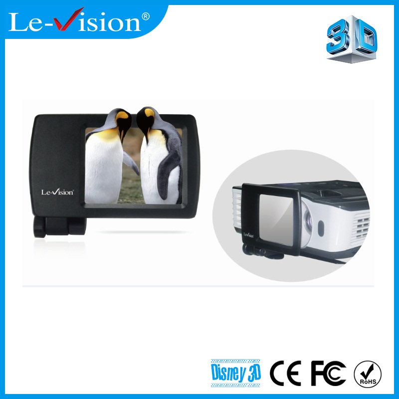 2016 Le Vision Mini Polarizer 3D Modulator for Home Cinema System DLP Projector Home Theater FPR