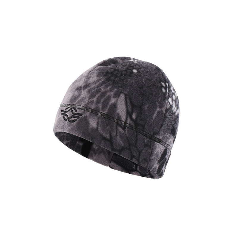 Outdoor Double Faced Fleece Hat Men Camping Hiking Caps Warm Windproof Autumn Winter Caps Fishing Cycling Military Tactical Cap in Hiking Caps from Sports Entertainment