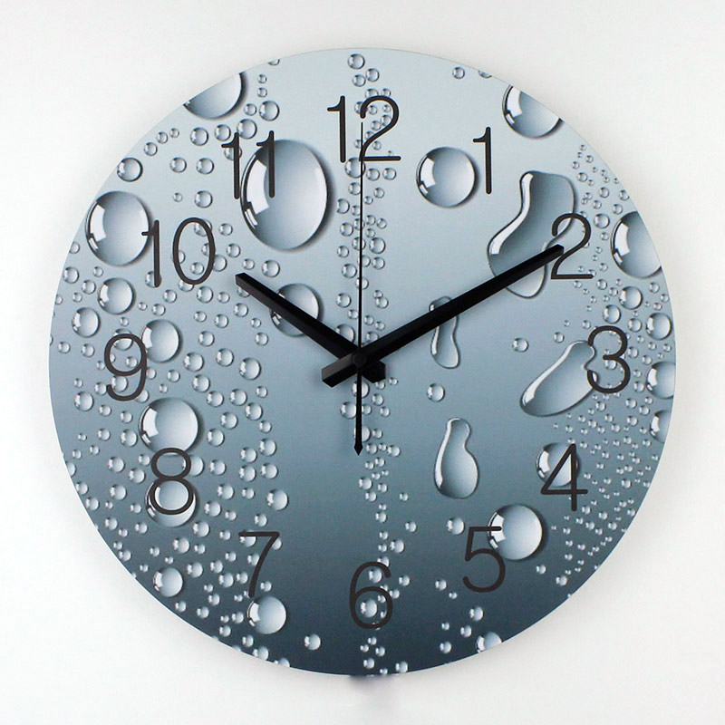 wholesale designer wall clock modern home decoration 3d wall decor clcoks living room decor silent wall - Modern Designer Wall Clocks