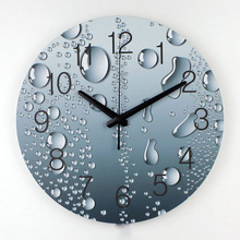 wholesale designer wall clock modern home decoration 3d wall decor clcoks living room decor silent wall clock fashion wall watch