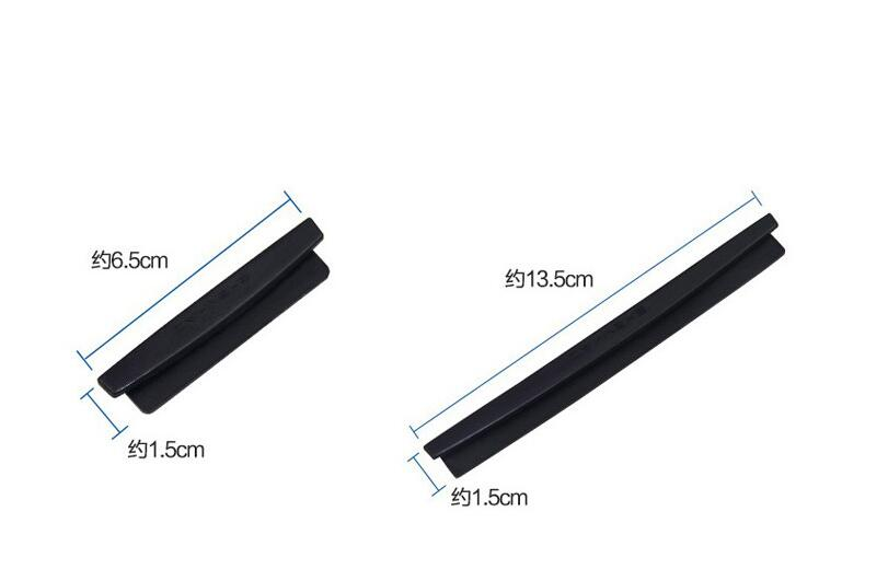 8pcs Car-styling door anticollision strip for AUDI a1 a3 a4L a4 a5 a6 b8 c5 c6 b7 a6L a7 a8L S5 S a8 S8 Q3 Q5 Q7 SQ5 Q1 TT TTS