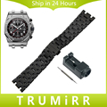 28mm Stainless Steel Watchband for AP Audemars Piguet Royal Oak Replacement Watch Band Butterfly Clasp Strap Wrist Belt Bracelet