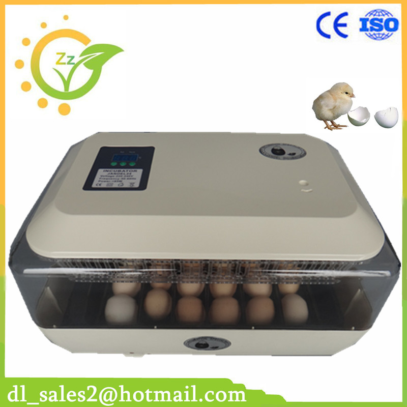 Automatic 24 egg incubator chicken incubator poultry harcher +gift candler free shipping by dhl 1pcs lot automatic egg incubator chicken incubator poultry hatchers 9egg