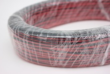 10/20/50/100m/lot, 2pin Red Black cable, Tinned copper  22AWG, PVC insulated wire, Electronic cable, LED cable,free shipping