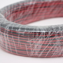 Led-Cable Insulated-Wire Tinned Copper 22AWG 2pin PVC Red 10/20/50-/..
