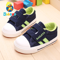 Babaya brand design new Spring new arrival contract stripes soft canvas baby boy girl first walkers toddle shoes child sneakers