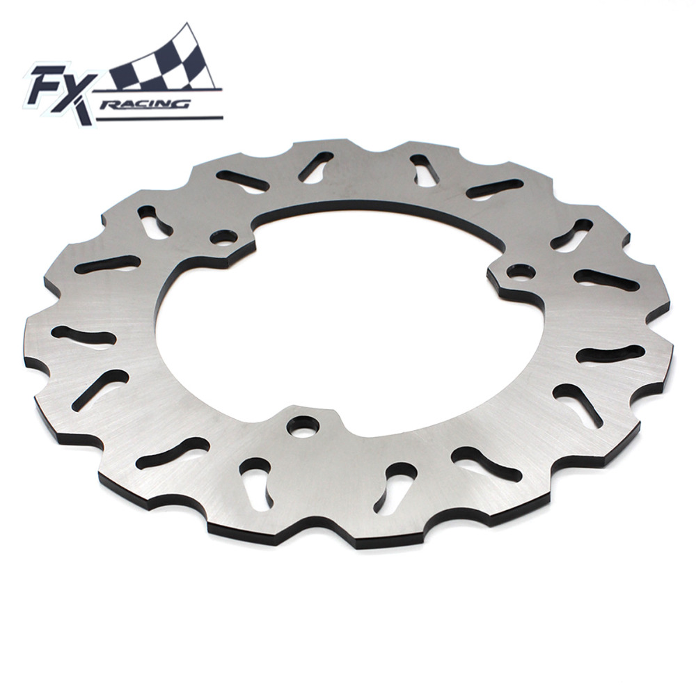 FX Stainless Steel Motorcycle 230mm Fixed Rear Brake Disc Rotor For Yamaha YZF R25 R3 2015-2016 Moto Accessories fx stainless steel motorcycle 230mm