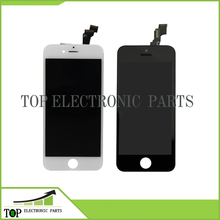 10PCS Grade AAA Top Quanlity LCD For iPhone 6 Screen Display With Digitizer Replacement Assembly White Black Color Free DHL