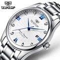 TEINTOP 2019 мужские спортивные автоматические механические часы люксовый бренд водонепроницаемые часы из нержавеющей стали бизнес Relogio Masculino