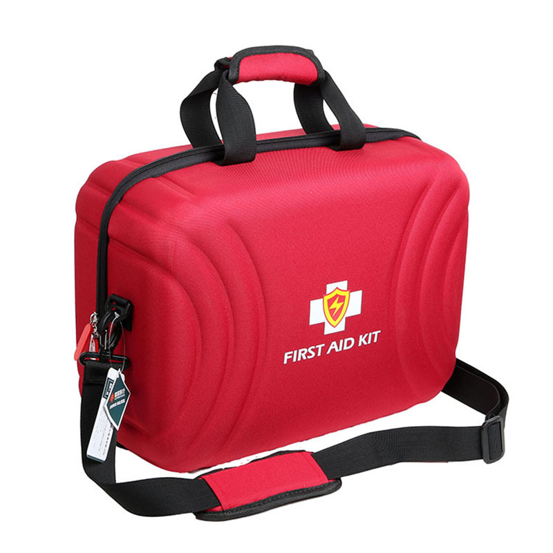 Large Size Professional Waterproof Premium Nylon First Aid Bag With EVA Separator Survival Medical Rescue Travel Dry Bags