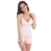 Nursing bra maternity nursing clothes before button without rims cotton feeding condole belt vest E15